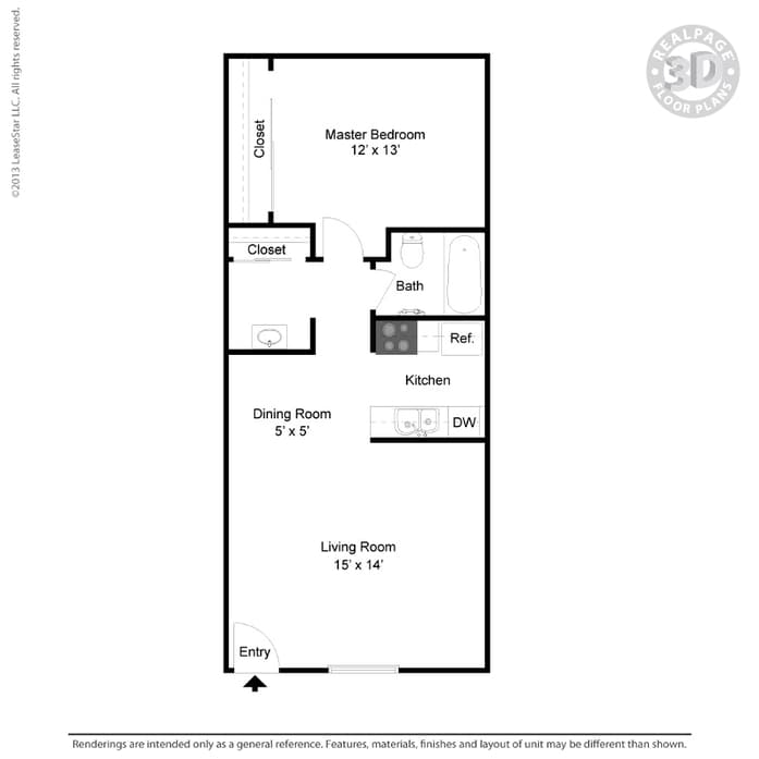 13 X 14 Kitchen Layout Apartments For Rent In Phoenix Az Solaris At The Biltmore Home
