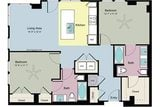 $1610 Two bedroom in Addison-Vitruvian Way