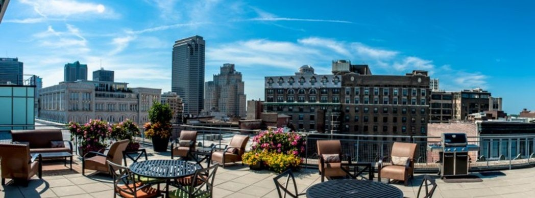 Urban Ambiance at The Bogen Apartments in St Louis, Missouri