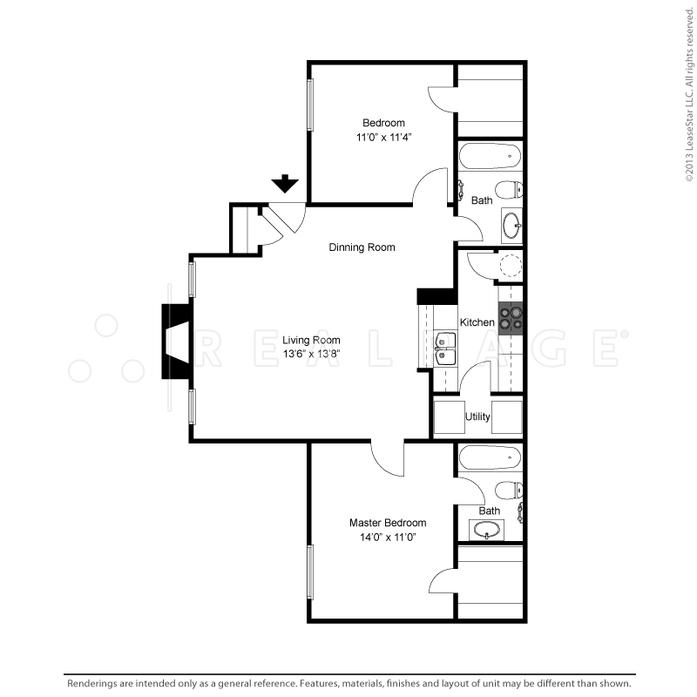 Lewisville Tx Oak Tree Village Floor Plans Apartments
