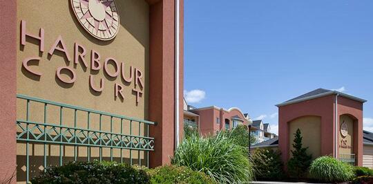 Harbour Court Apartments Portland Oregon