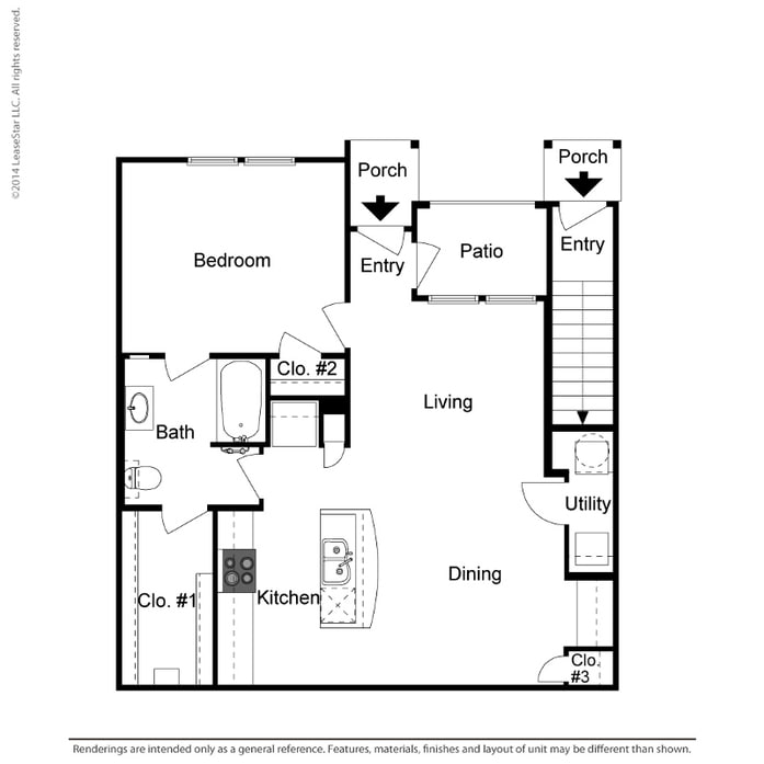 Floor Plans At Summer House Apartments