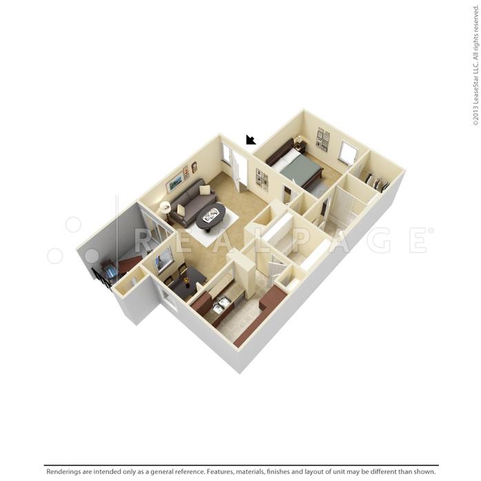 Lewisville, TX Oak Tree Village Floor Plans