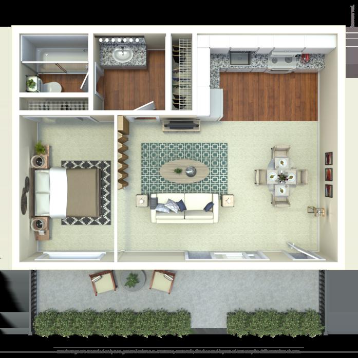 Apartments In Palo Alto: Stanford Villa Floor Plans