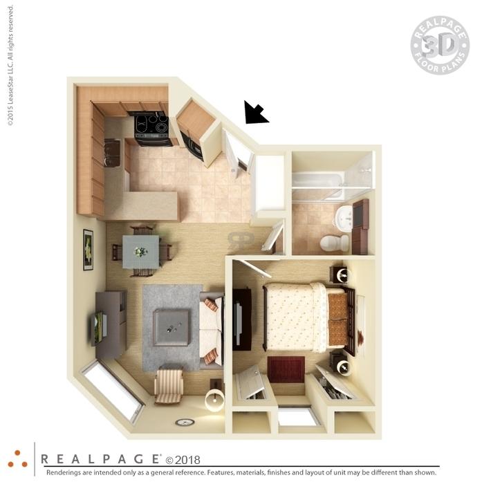 Bedroom Apartments Hamburg Ny