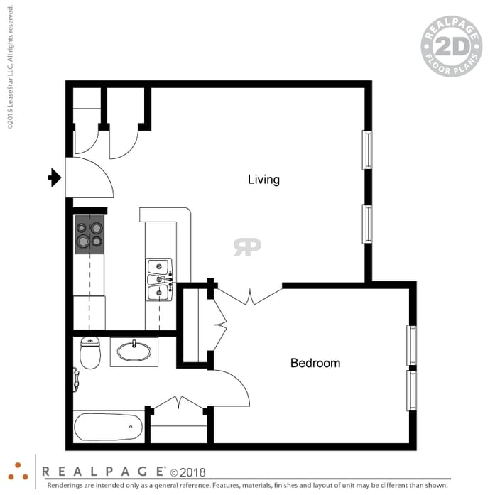 Floor Plans at Glendale at the Mansion Senior Living Apartments