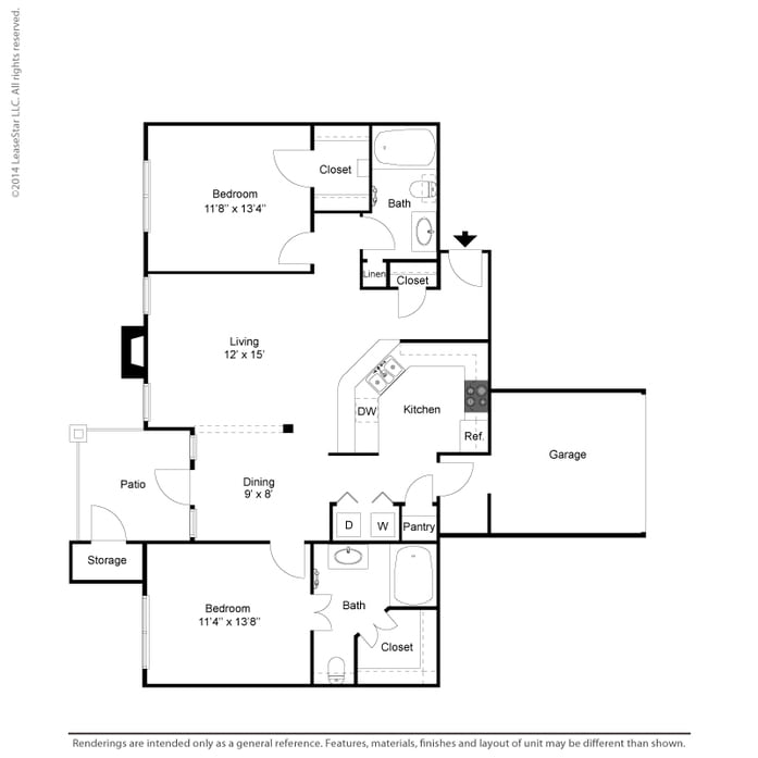 Quail Chase Apartments: Coppell, TX Oaks Riverchase Apartments Floor Plans