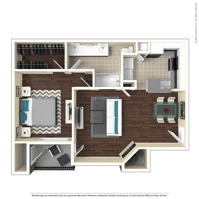 Austin, TX Saratoga Floor Plans