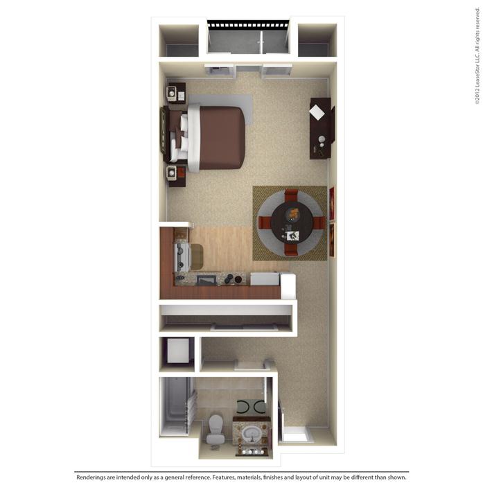 2 Bedroom Apartments aventino apartments in los gatos floor plans
