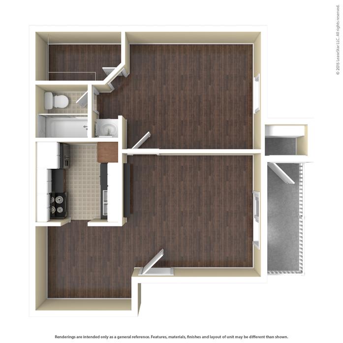 Conifer Creek Apartments: Pasadena, TX Ashmore Floor Plans
