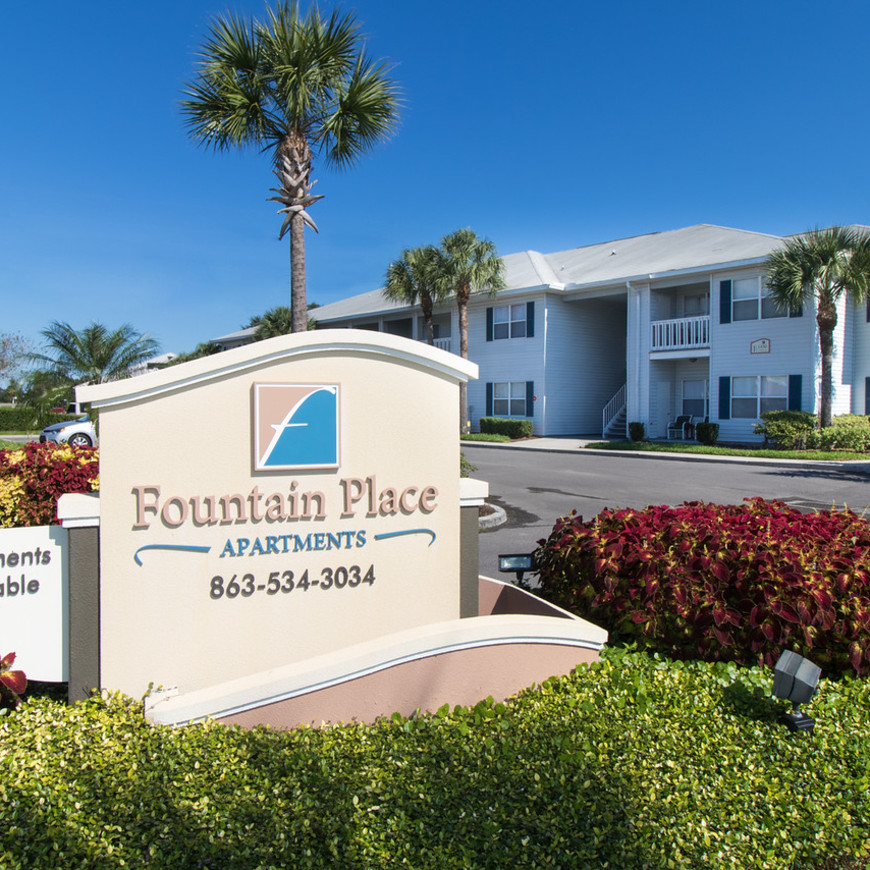 Attractive Fountain Place Apartments In Bartow, Florida