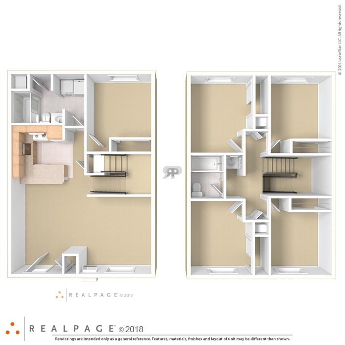 Duluth, MN Campus Park Apartments Floor Plans