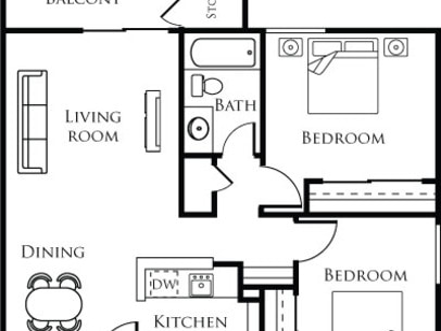 Las Vegas Nv 4200 Paradise Floor Plans Apartments In Las Vegas Nv Floor Plans