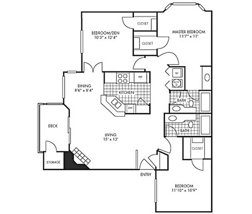 The Bay Court At Harbour Pointe Apartment Homes