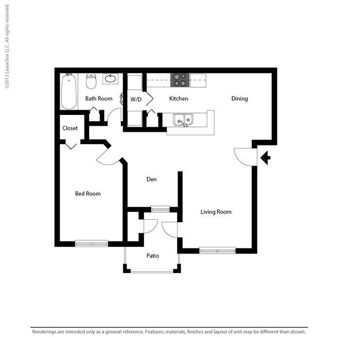 Apartment Floor Plans 2 Bedroom 1 & 2 bedroom apartments in tampa fl | audubon village floor plans