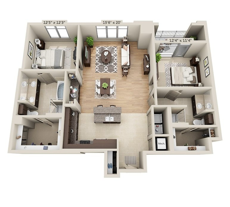 Luxury Apartments San Francisco Ashton San Francisco Awesome Floor Plan 2 Bedroom Apartment Style Painting