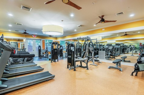 Fitness Center-Mezzo1 Apartments