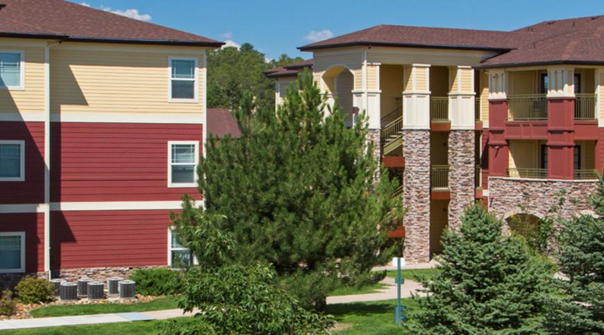 Apartments Colorado Springs Floor Plans At Creekside At Palmer Park