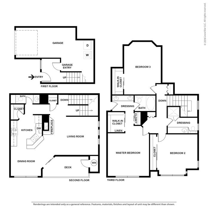 3 Bedroom Apartments In San Francisco: Aliso Viejo, CA ST MORITZ RESORTS Floor Plans