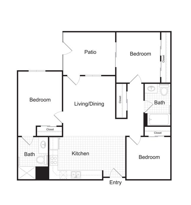 Studio, One, Two & Three Bedroom Apartments In Denver At