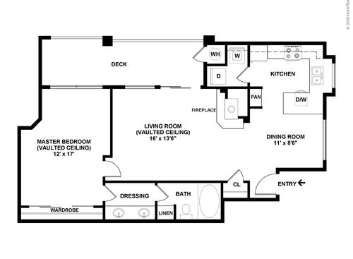 Barcelona Resort Apartments Floor Plans