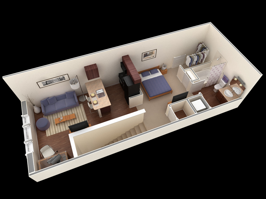 San Antonio, TX Overlook At Stone Oak Park Floor Plans | Apartments ...
