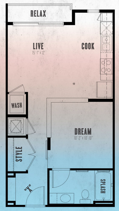 Floor Plans at Mercury NoDa