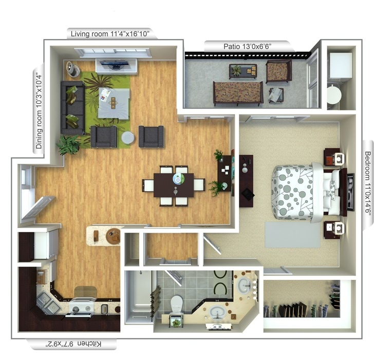 One two and three bedroom apartments in plantation fl - One bedroom apartments in plantation florida ...