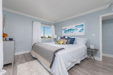 Bedroom-Bayshore Grove Apartments