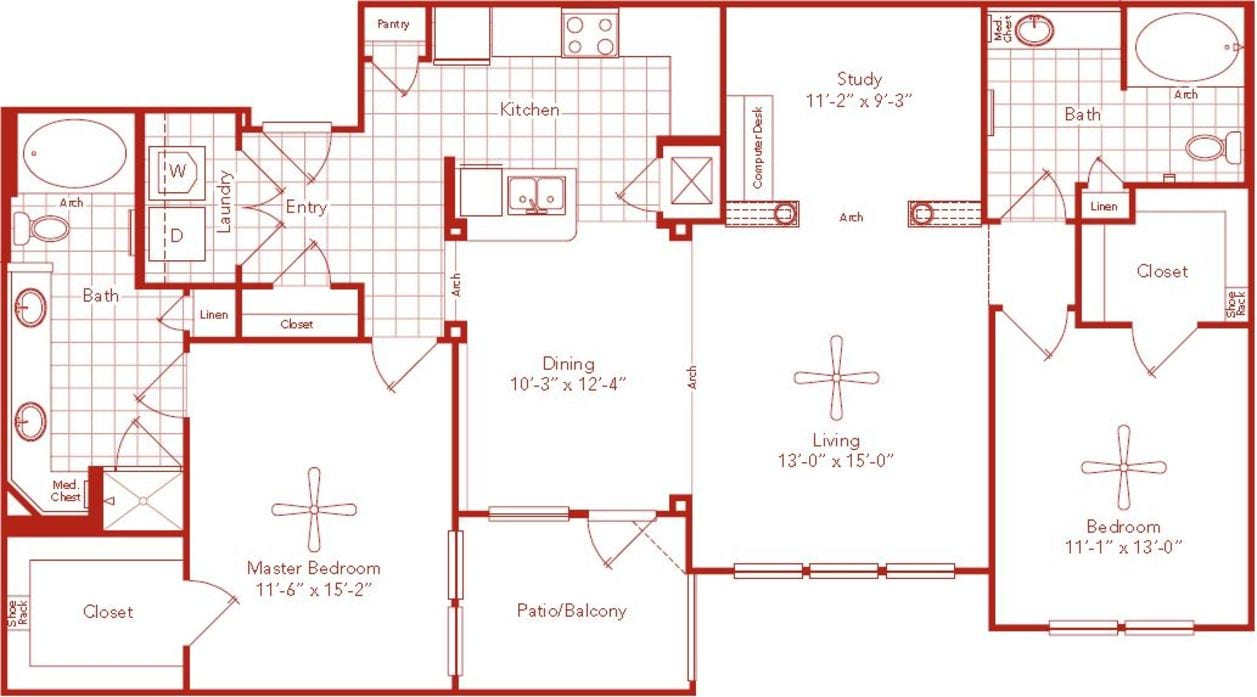 Luxury Apartments Houston Avanti Cityside Puter System Diagram In Addition On Hardware Block Of Toilet 3d Furnished 2d