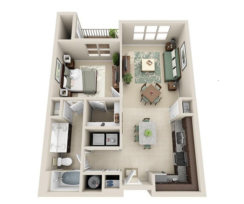 Loft Apartments Augusta Ga: North Raleigh Apartments 27615