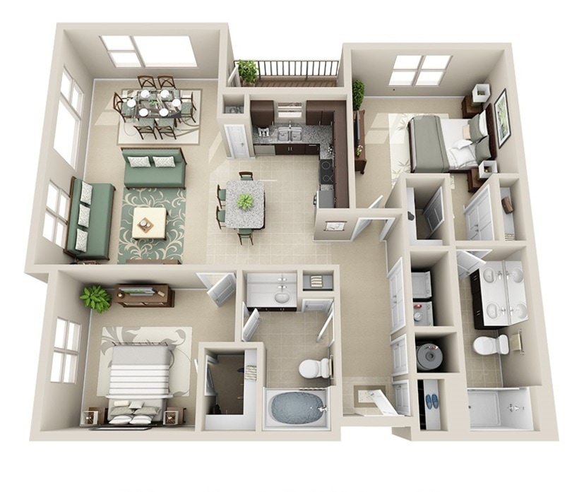 1 3 Bedroom Apartments Raleigh Nc Junction Six Forks