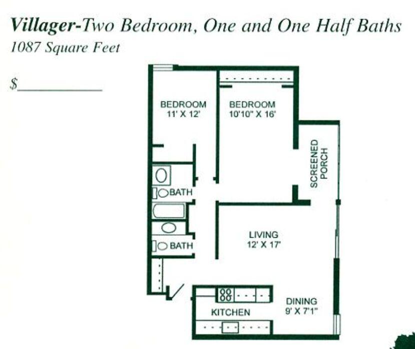Winter Park Village Apartments: Winter Park, FL Winter Park Village Apartments Floor Plans