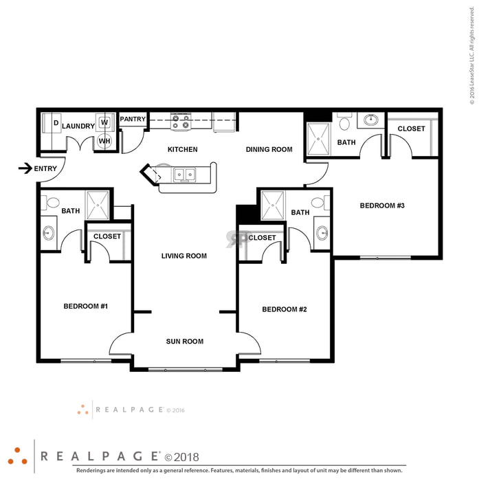 Floor Plan Friday Storage Laundry Residences At