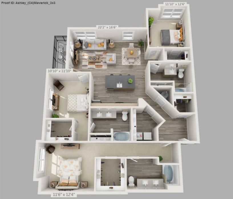 The Ashley 1 Bedroom Apartment Charleston Sc: 1-3 Bedroom Apartments Charleston, SC