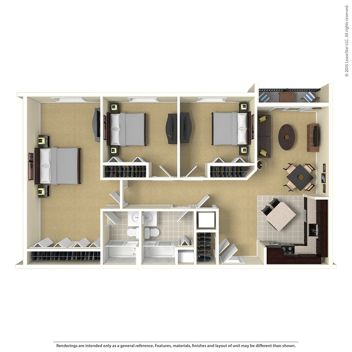 Duluth Apartments: Duluth, MN Boulder Ridge Floor Plans