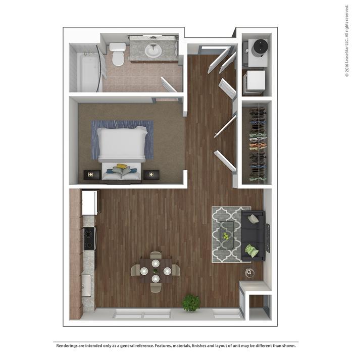 Floor Plans of The Deco | Columbus Apartments