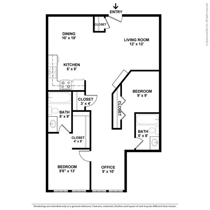 City View Apartments North Kansas City Mo: North Kansas City, MO Park Lofts Floor Plans