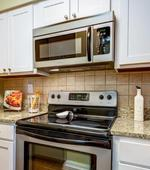 Kitchen- Uptown Gardens Apartments