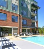 Pool-Asbury Flats Apartments