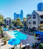 Pool- Uptown Gardens Apartments