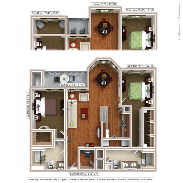 1-3 Bedroom Apartments Southwest Houston