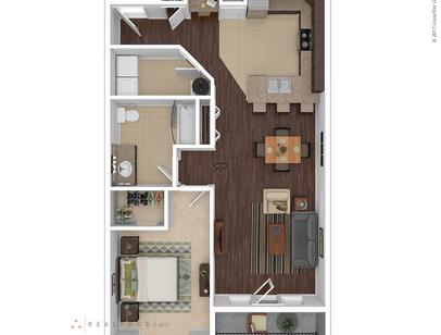 Williamston, MI 304 River Edge Floor Plans | Apartments in ...