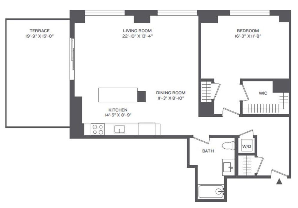 2 Floor Plans | Floor Plans At Cast Iron Lofts Jersey City