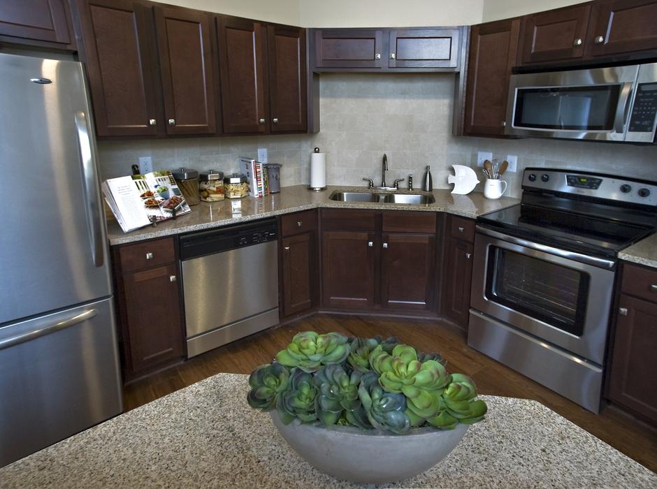 Kitchen-Residence at Marina Bay Apartments