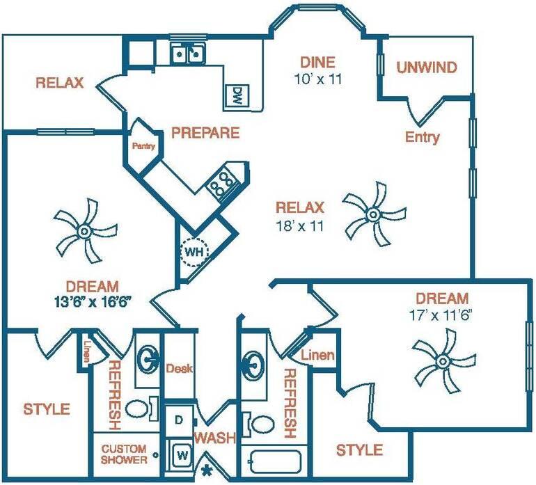 Grandview Pointe Apartments: 1-3 Bedroom Apartments Katy, TX
