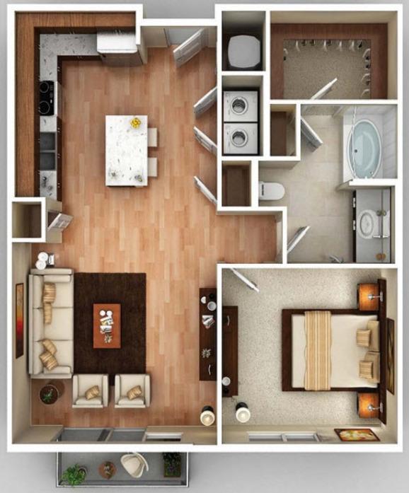 Fieldstone Apartments Memphis: Dallas, TX Pike West Commerce Floor Plans
