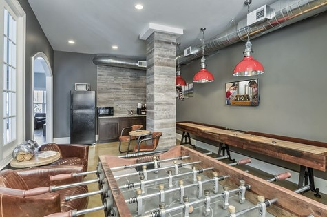 Game Room-Retreat at the Park Apartments