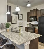 Kitchen-Retreat at the Park Apartments