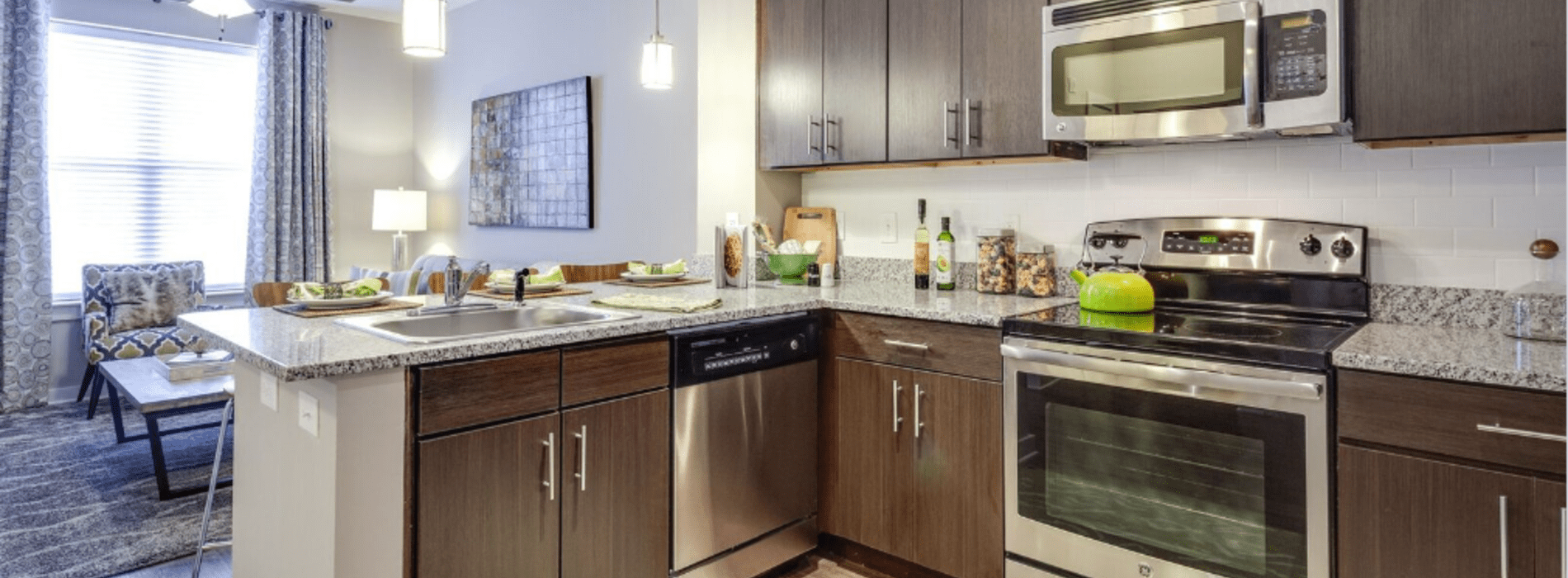 Kitchen-Whetstone Apartments